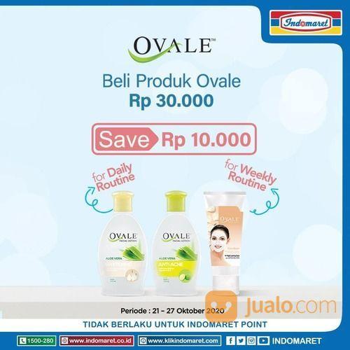 Indomaret Diskon Rp10.000 produk Ovale facial lotion di Indomaret (28700215) di Kota Jakarta Selatan