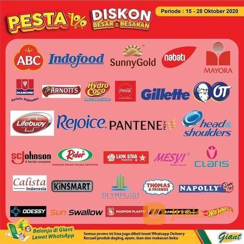 Giant Pesta Diskon Besar-besaran Promo menarik makanan dan minuman, body wash, pewangi, dan lainnya (28700251) di Kota Jakarta Selatan