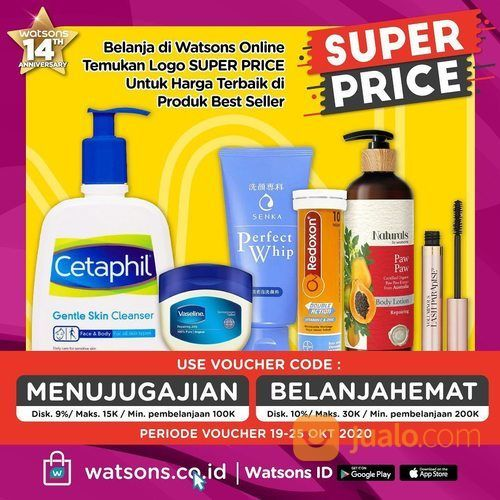 Watsons Super Price Diskon Harga terbaik download palikasi Watsons ID! (28703475) di Kota Jakarta Pusat