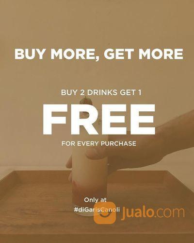 Garis Canoli Buy 2 Drinks Get 1 FREE (28703727) di Kota Bandung