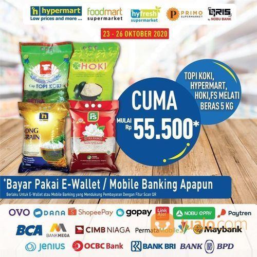 Special untuk Hypermart Lovers, dapatkan promo termurah untuk Topi Koki, Hoki, FS Sego Pulen* (28709811) di Kota Jakarta Selatan