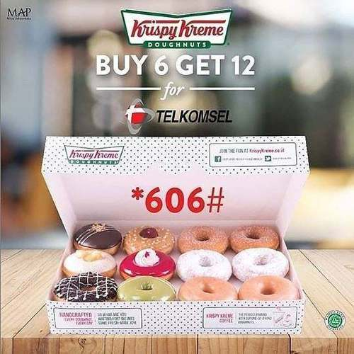 Krispy Kreme Buy 6 Get 12 (28710655) di Kota Jakarta Selatan