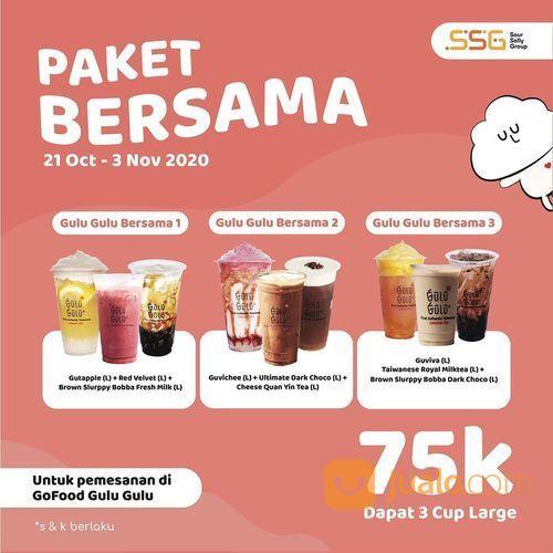Gulu Gulu Cheese Tea Promo Paket Bersama (28710719) di Kota Jakarta Selatan