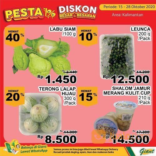 Giant Promo untuk yang ada di Kalimantan aneka produk segar berkualitas Bisa hemat hingga 40% (28711067) di Kota Samarinda