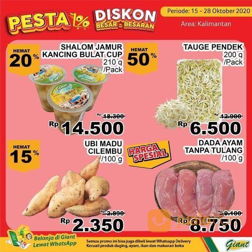 Giant Promo untuk yang ada di Kalimantan aneka produk segar berkualitas Bisa hemat hingga 40% (28711071) di Kota Samarinda