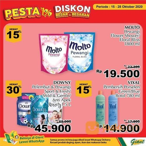 Giant Promo Spesial beragam produk dari Giant! (28711155) di Kota Jakarta Selatan