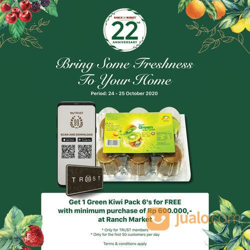 Ranch Market GET 1 pack of Green Kiwi for FREE for 50 first customers* (28711411) di Kota Jakarta Selatan