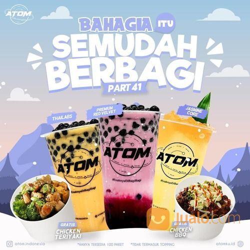 PROMO #AtomBerbagiBerkah 100 porsi Nasi Ayam GRATISS (28713679) di Kota Malang
