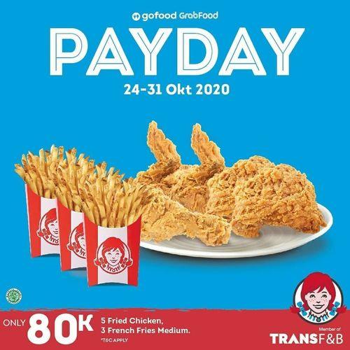 Wendy's Indonesia Payday Promo (28716851) di Kota Jakarta Selatan