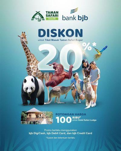 Taman Safari Diskon 20% (28717131) di Kota Jakarta Selatan
