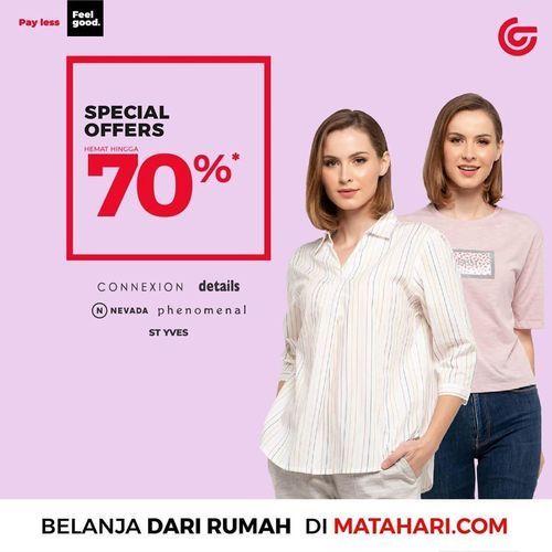 Matahari Spesial Offer 70% (28717215) di Kota Jakarta Selatan