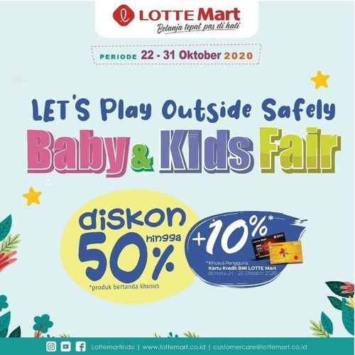 Lotte Mart Baby's Kids Fair (28717315) di Kota Jakarta Selatan