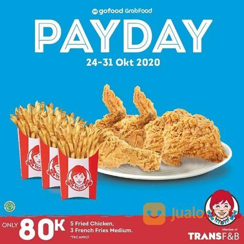 Wendy's Promo Payday (28718299) di Kota Jakarta Selatan