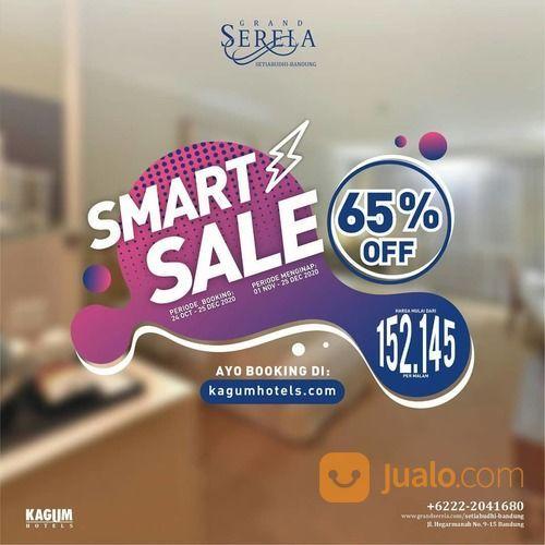 Kagum Hotels Grand Serela Setiabudhi Smart Sale Diskon 65% untuk semua tipe kamar* (28718659) di Kota Bandung