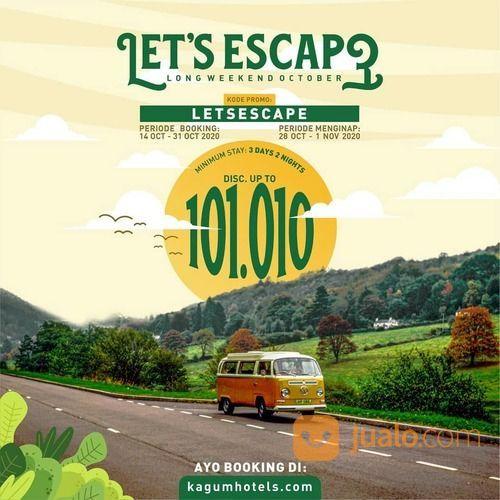 Lets Escape Long Weekend October di kagumhotels.com (28718763) di Kota Jakarta Selatan