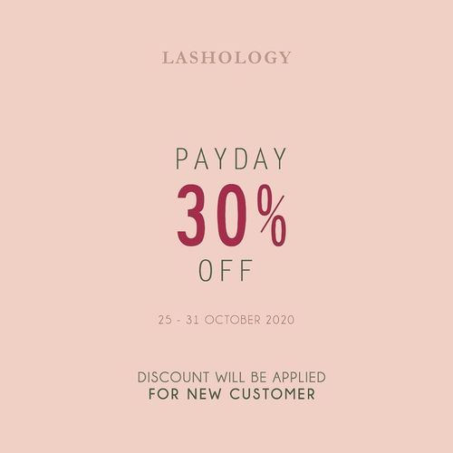 Lashlogy Payday Sale 30% Off (28729067) di Kota Jakarta Selatan
