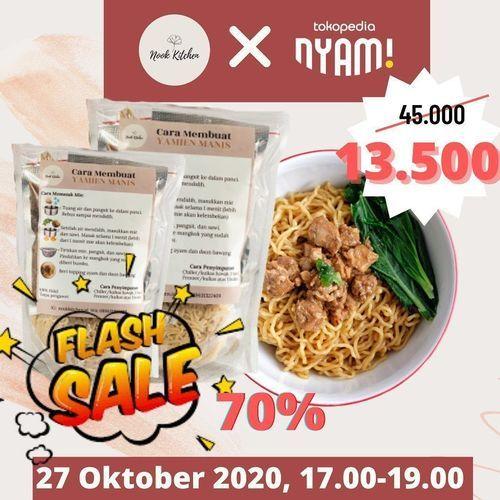 Nook Kitchen Flash Sale 70% Off (28729115) di Kota Jakarta Selatan