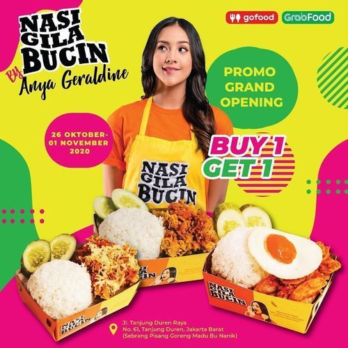 Nasi Gila Bucin Grand Opening Promo (28729131) di Kota Jakarta Selatan