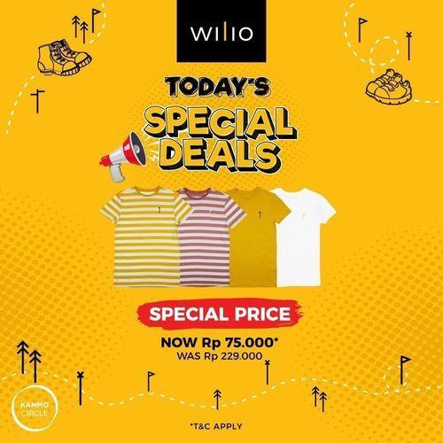 Wilio Today's Special Deals (28729179) di Kota Jakarta Selatan