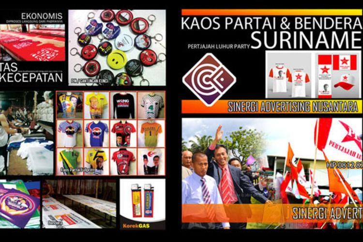 Kaos Partai Murah Bendera Partai Rp.3500-8500/pcs (2873523) di Kota Jakarta Selatan
