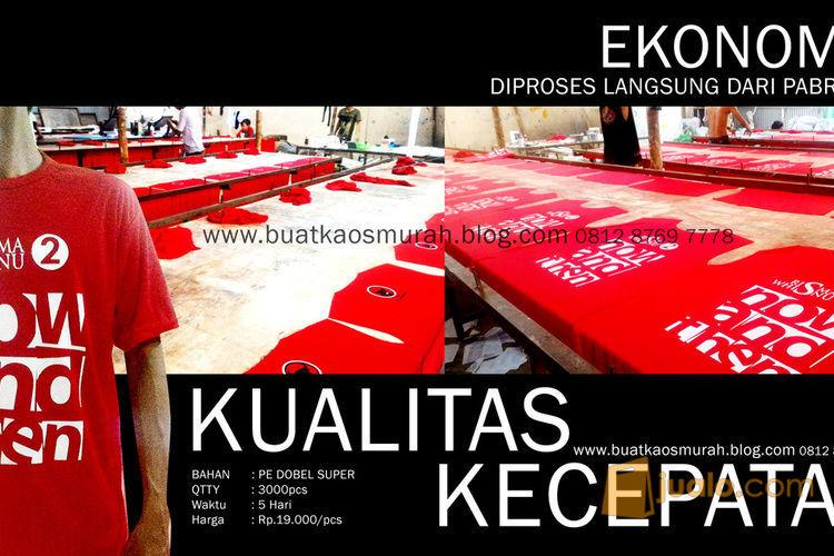 Kaos Partai Murah Bendera Partai Rp.3500-8500/pcs (2873525) di Kota Jakarta Selatan