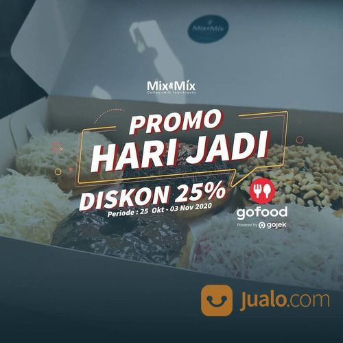 Mix and Mix Promo Hari Jadi Diskon 25% (28737667) di Kota Jakarta Selatan