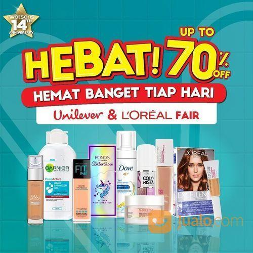 Watsons Promo HEBAT! Hemat Banget Tiap Hari! Up to 70% (28745495) di Kota Jakarta Selatan