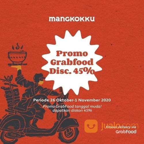 Mangkok Ku Promo Grabfood Disc. 45% (28746959) di Kota Jakarta Selatan