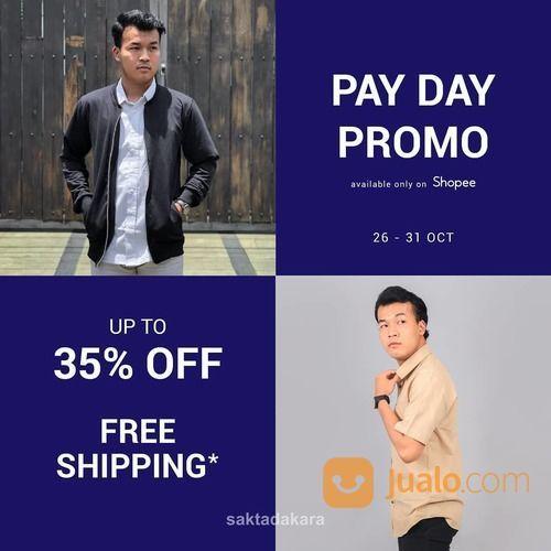 Saktadakara Spesial Pay Day Promo Oktober POTONGAN HARGA hingga 30% dan FREE ONGKIR* (28751971) di Kota Jakarta Selatan