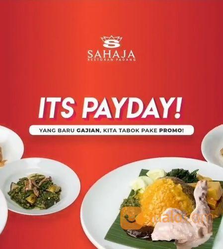 Sahaja Padang Restaurant PAY-DAY BERSAMA SAHAJA (28752027) di Kota Jakarta Selatan