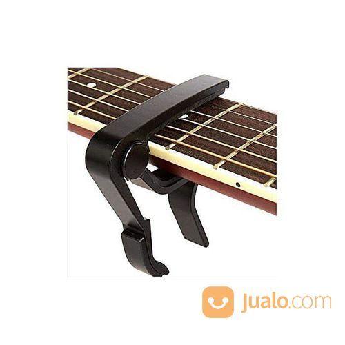 Guitar Capo Kapo Gitar Bass Akustik Elektrik Ukulele Alumunium Alloy Merah (28765279) di Kota Surabaya