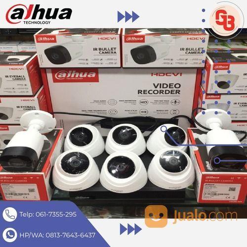 CCTV DAHUA 8Camera 2MP Bergaransi (28850079) di Kota Padangsidimpuan