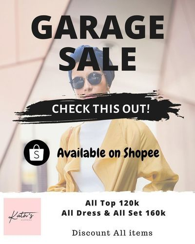 Kaths Clothing Garage Sale (28855867) di Kota Jakarta Selatan