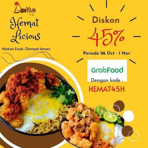 Dooyam Hemat Licious Diskon 45% (28855911) di Kota Jakarta Selatan