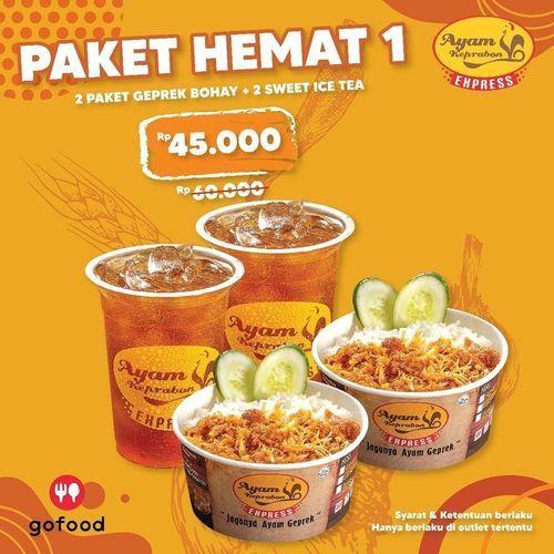 Ayam Keprabon Promo Paket Hemat (28879791) di Kota Jakarta Selatan