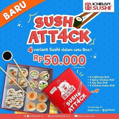 Ichiban Sushi Promo Sushi Attack (28881491) di Kota Jakarta Selatan