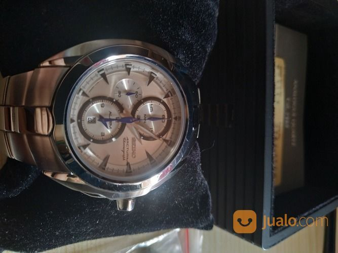 Jam Tangan Seiko Arctura Mens Chronograph Alarm - Sapphire Crystal 7T62-0JA0 (28883143) di Kota Depok