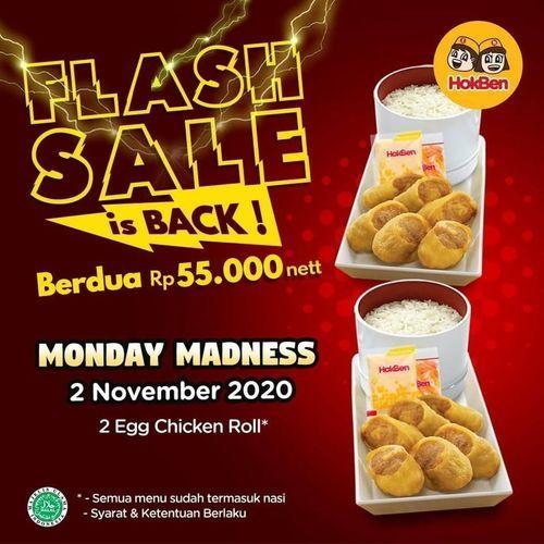 HokBen Flash Sale Monday Madness (28884379) di Kota Jakarta Selatan