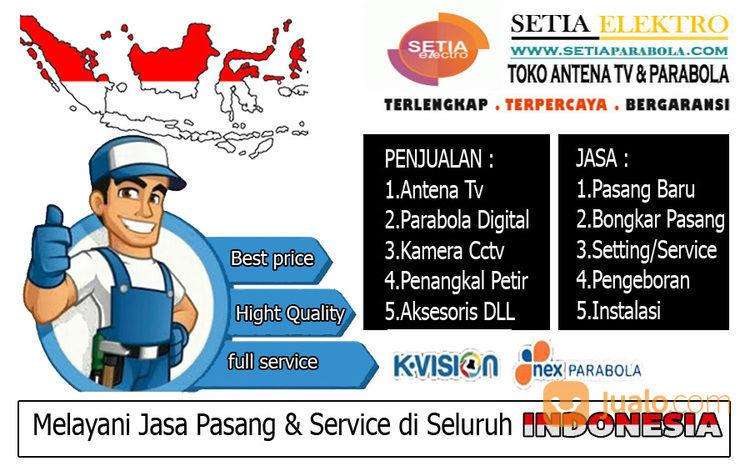 Jasa Paasang Parabola Mini Sepatan (28897683) di Kab. Tangerang