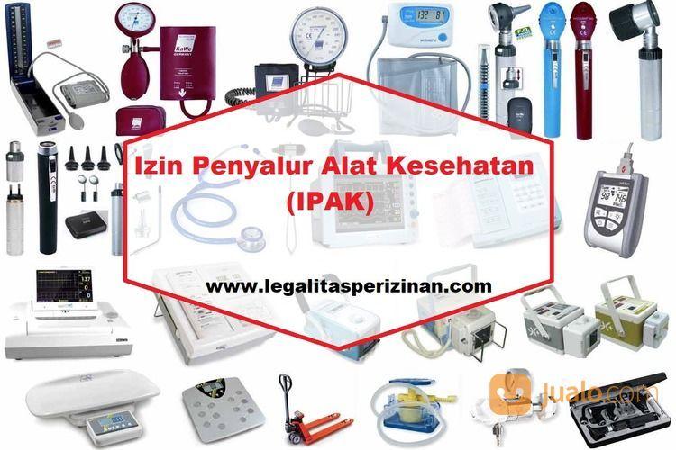Pengurusan IPAK (Penyalur Alat Kesehatan) Murah (28919075) di Kota Jakarta Selatan