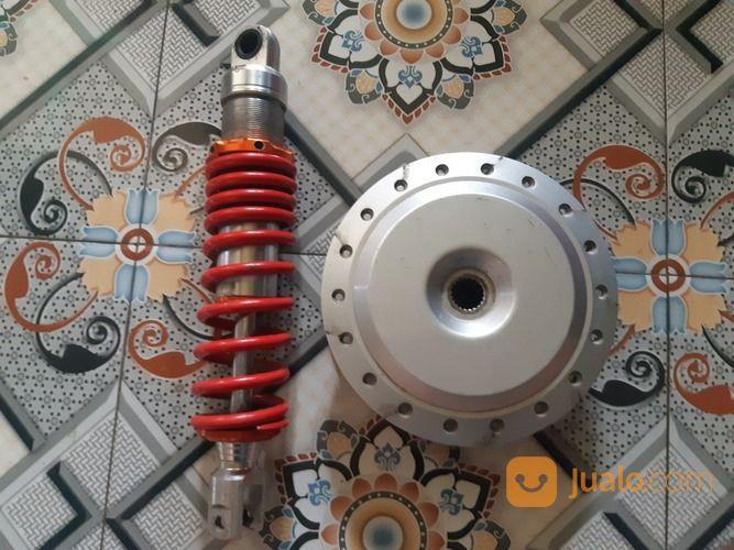 Tromol Beat / Vario Old & Shock KTC Racing (28922779) di Kota Bandung