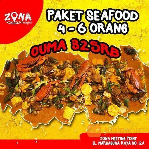 Zona Pondok Indah Promo Paket Seafood 4-6 Orang (28925515) di Kota Jakarta Selatan