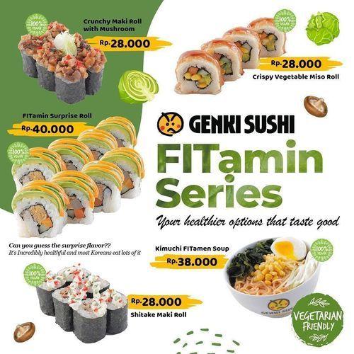 Genki Sushi Fitamin Series (28949120) di Kota Jakarta Selatan