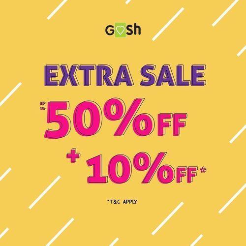 GOSH Shoes Extra Sale 50% Off + 10% Off (28949125) di Kota Jakarta Selatan