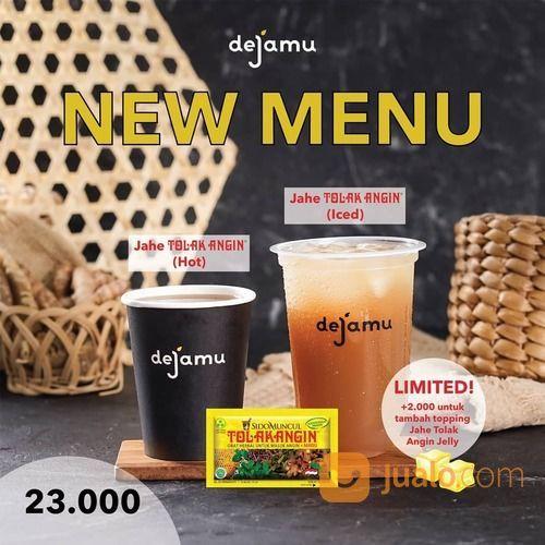 Dejamu New Menu! Jahe Tolak Angin + Topping Jelly hanya bersifat LIMITED hingga 15 November 2020! (28952084) di Kota Jakarta Selatan