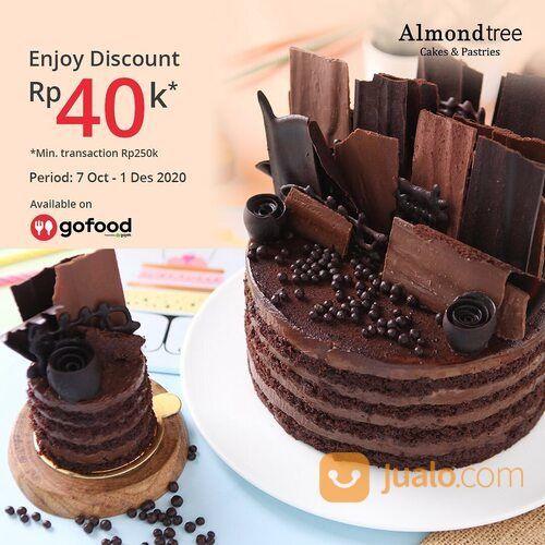 Almondtree Promo Order minimal Rp250ribu di @gofoodindonesia, dapat diskon Rp40ribu loh! (28952096) di Kota Jakarta Selatan