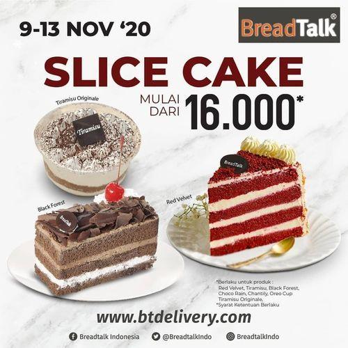 BreadTalk Slice Cake Rp. 16.000 (28954418) di Kota Jakarta Selatan