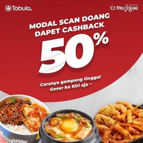 Mujigae Modal Scan Dapat Cashback 50% (28954450) di Kota Jakarta Selatan