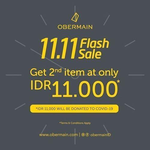 Obermain 11.11 Flash Sale is here! (28954483) di Kota Jakarta Selatan