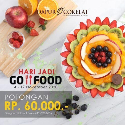 Dapur Cokelat Promo Hari Jadi Potongan Rp. 60.000 (28962909) di Kota Jakarta Selatan